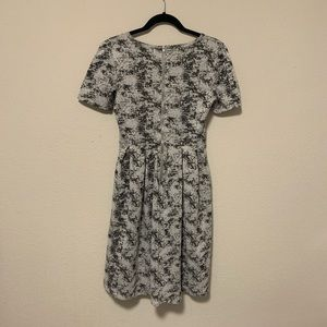 LuLaRoe Dresses - Lularoe Gray Amelia Skater Dress